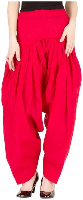 LILI Cotton Patiala - Red