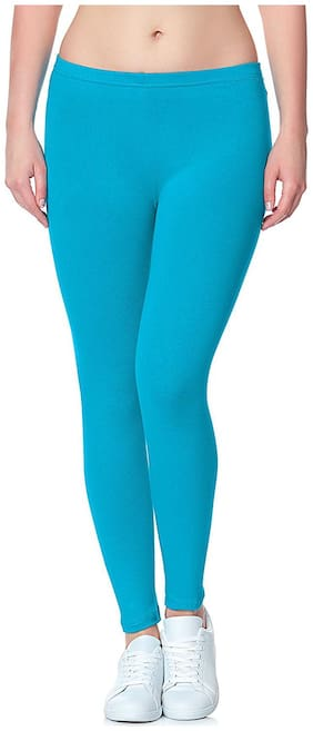 LILI Lycra Leggings - Blue
