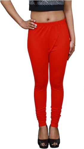 LILI Lycra Leggings - Red