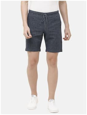 Men Checked Regular Shorts