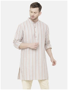 Men Striped Regular Fit Kurta ,Pack Of Pack Of 1