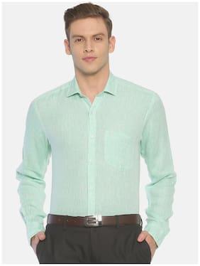 Men Regular Fit Solid Formal Shirt