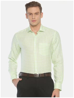 Men Regular Fit Checked Formal Shirt ,Pack Of Pack Of 1
