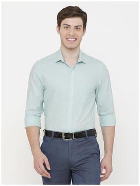 Men Regular Fit Striped Formal Shirt