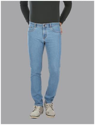 Lisova Men Mid rise Slim fit Jeans - Blue