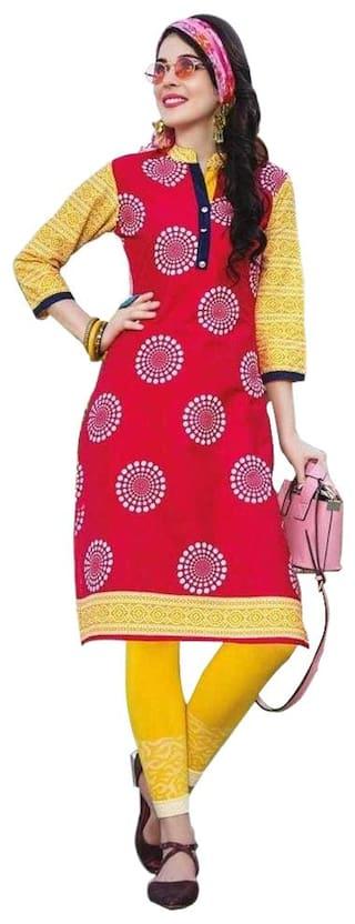 a13de07ffd Buy Littledesire Women Daily Wear Printed Cotton Kurti Online at 60 ...