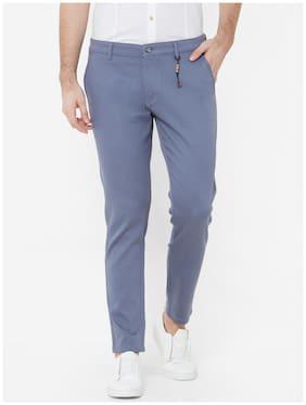 Livewire Men Grey Solid Slim fit Regular trousers