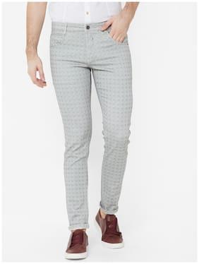 Livewire Men Black Checked Slim fit Regular trousers
