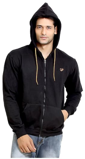 London Bee Black Cotton Hood