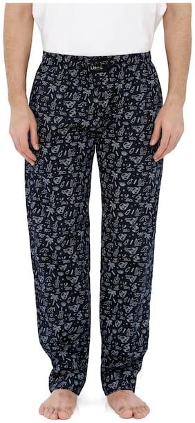 London Bee Men's Cotton Poplin Printed Pyjama/ Lounge Pant MPLB0085