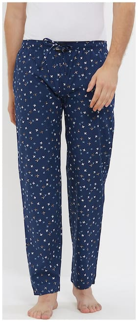London Bee Men's Cotton Poplin Printed Pyjama/ Lounge Pant MPLB0130