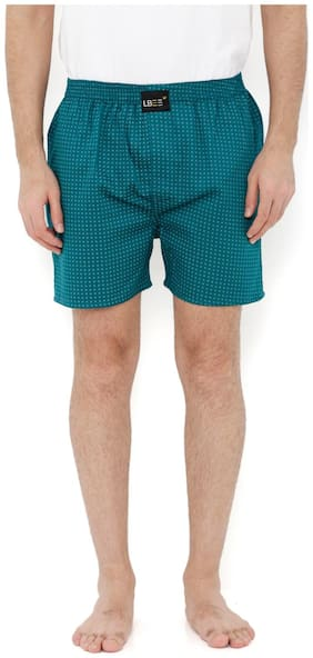London Bee Men's Cotton Printed Boxer MLB0147