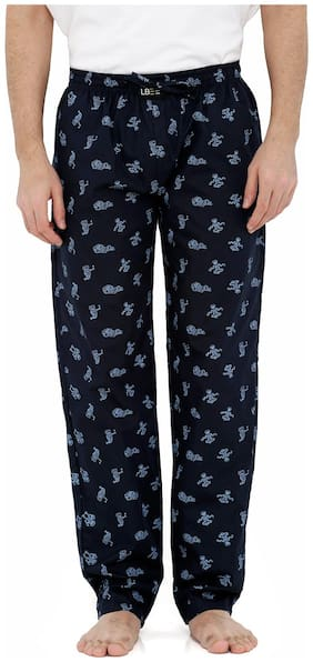 London Bee Men's Cotton Poplin Printed Pyjama/ Lounge Pant MPLB0088