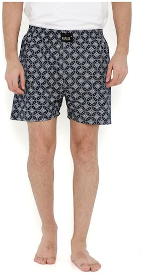 London Bee Men's Cotton Printed Boxer MLB0126