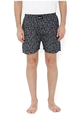 London Bee Men's Cotton Printed Boxer MLB0120
