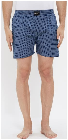 London Bee Men's Cotton Printed Boxer MLB0176