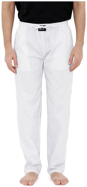 London Bee Men's Cotton Poplin Printed Pyjama/ Lounge Pant MPLB0116