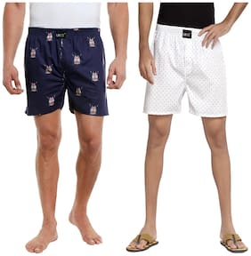 London bee men's boxer combo pack of 2 MLBCP20059