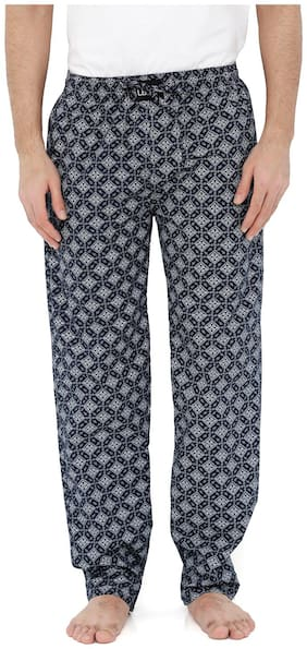 London Bee Men's Cotton Poplin Printed Pyjama/ Lounge Pant MPLB0090