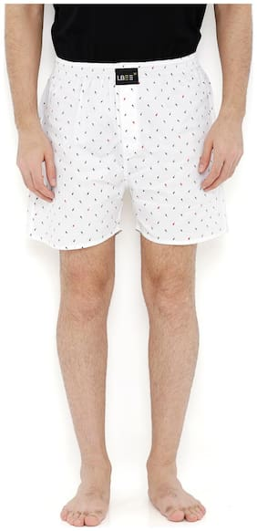 London Bee Men's Cotton Printed Boxer MLB0149