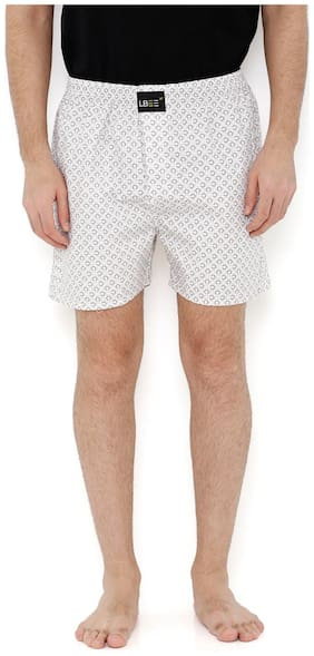 London Bee Men's Coconut Tree Print Boxer MLB0153