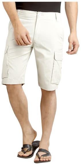 London Bee Solid Men's Cargo Shorts MSLB0039
