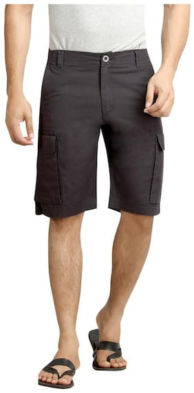 London Bee Solid Men's Cargo Shorts MSLB0040