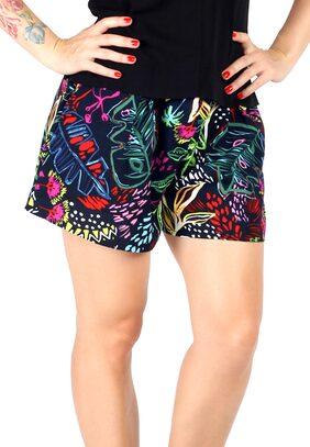 London Rag Women Solid Shorts - Blue