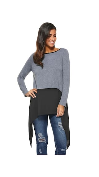 Long Asymmetrical Asymmetrical Long Sleeve Sleeve Blouse Sleeve Asymmetrical Sleeve Blouse Long Blouse Long ArAgq