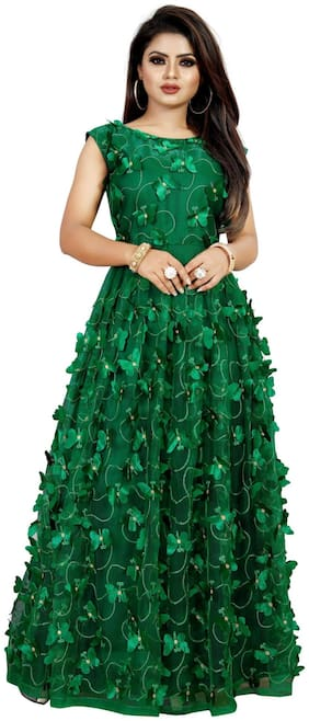 Women Embellished Festive Gown