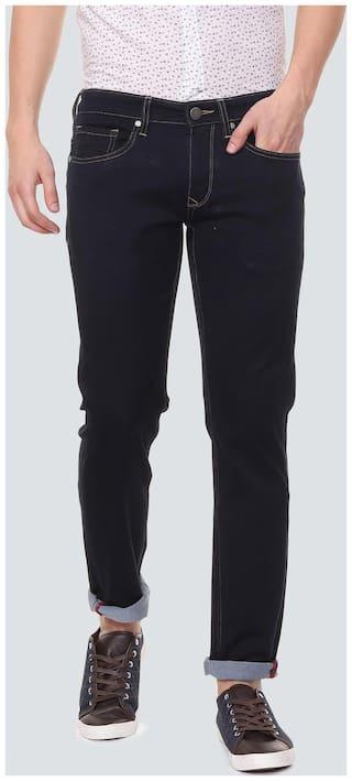 Louis Philippe Men Black Slim Fit Jeans