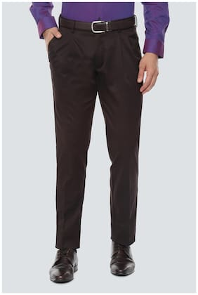 Men Regular Fit Formal Trouser Pack Of 1