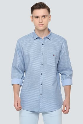 a12085dcfff2c9 Louis Philippe Casual Shirts Prices | Buy Louis Philippe Casual ...