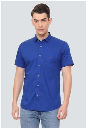 Louis Philippe Men Slim Fit Casual shirt - Blue