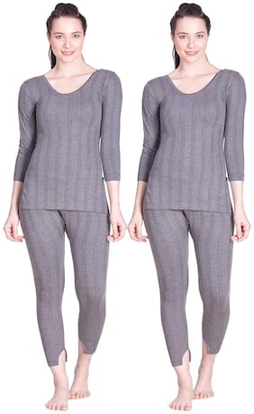 Women Cotton Thermal ,Pack Of 4