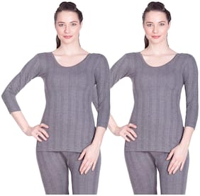 Women Cotton Thermal ,Pack Of 2