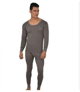 Lux Inferno Men Blended Thermal set - Grey