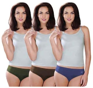 5fec6134cdbc Buy Lux Karishma Plain Premium Assortedcolor Cotton Panties - Set of ...
