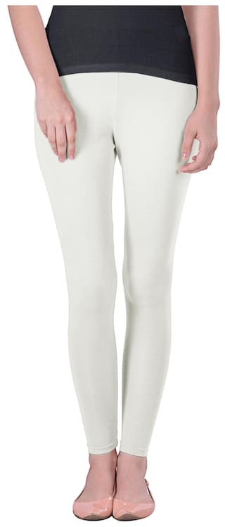 f85e45417e7af Buy Lux Lyra White Winter Leggings Online at Low Prices in India ...