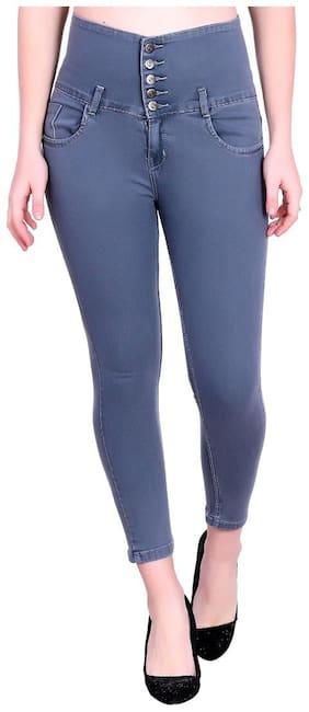 M MODDY Women Grey Skinny fit Jeans