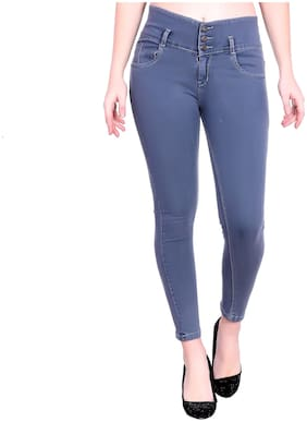 M MODDY Women Grey Skinny fit Jeans