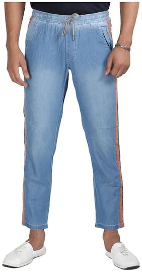 MagMatric5 Men Blue Tapered Fit Jeans