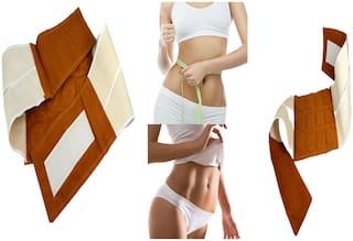 Magnetic Slimming Belt Tummy Control Shapewear Stomach Fat Burner Abdominal Trainer Workout Sauna Suit Cincher Fat Cutter Tummy Tucker Waist Slimming Weight Loss for Women & Men