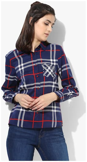 db70f0f9ef6 Shirts for Women - Buy Cotton Shirts, Casual Shirts for Ladies ...