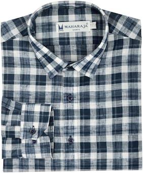 Maharaja Mens Slim Fit Formal Shirt