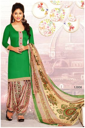 MAHATI soft cotton printed unstitched salwar suit