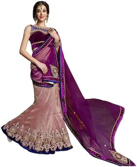 Net Wedding Lehnga Choli
