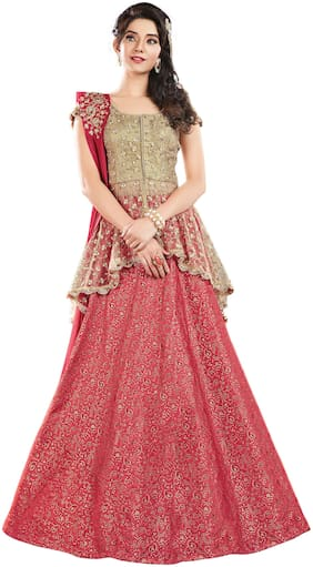 Georgette Wedding Lehnga Choli