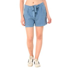 MansiCollections linen shorts for women