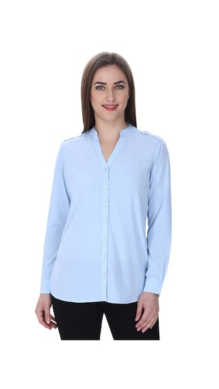 Formal Light Formal Blue MansuCollections Shirt Blue Formal Shirt Light Light Shirt MansuCollections MansuCollections MansuCollections Blue q8OITp